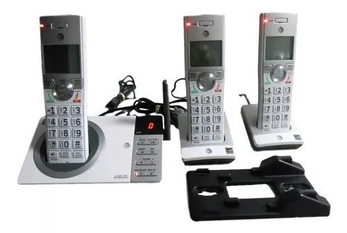 Telefone s/ fio at & t3 handset c/3 bases pronta entrega