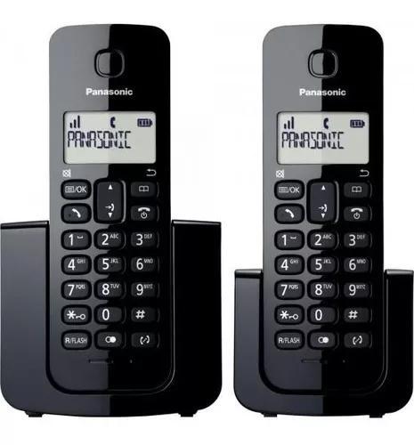 Telefone s/ fio com base + ramal id kx-tgb112lbb - panasonic