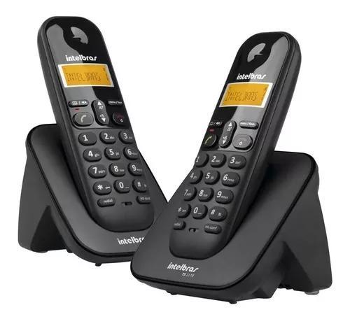 Telefone s/ fio digital c/ ramal adicional ts 3112 intelbras