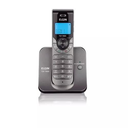 Telefone s/ fio elgin tsf7800 c/ viva voz e id de chamada