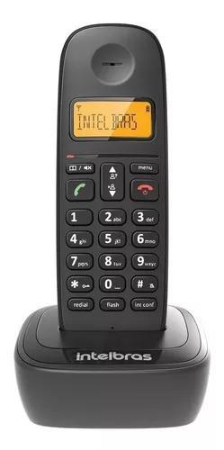Telefone s/ fio intelbras ts2510 dect 6.0 c/ identificador