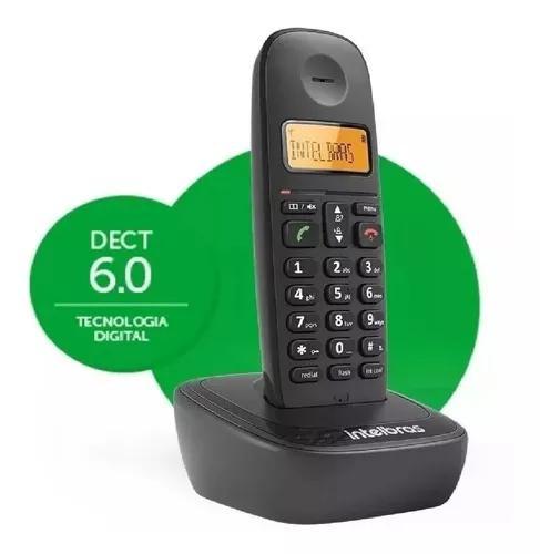 Telefone s/ fio intelbras ts2510 id de chamada e