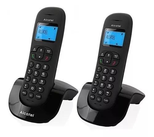 Telefone s/fio alcatel c200 duo 6.0 com identi. de chamadas