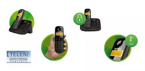 Telefone s/fio c/secretária eletrônica bloqueio ddd ddi
