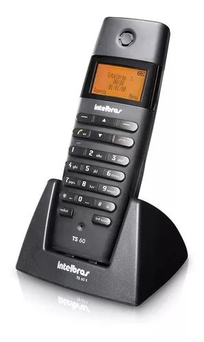 Telefone s/fio c/viva-voz identificador dechamadas intelbras