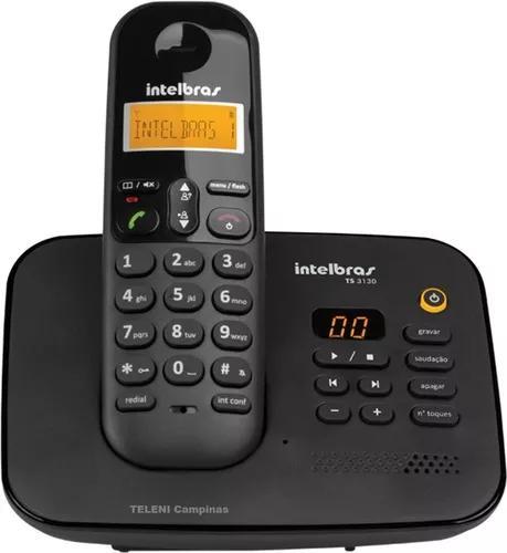 Telefone s/fio secretária+bloqueio d teclado+grava