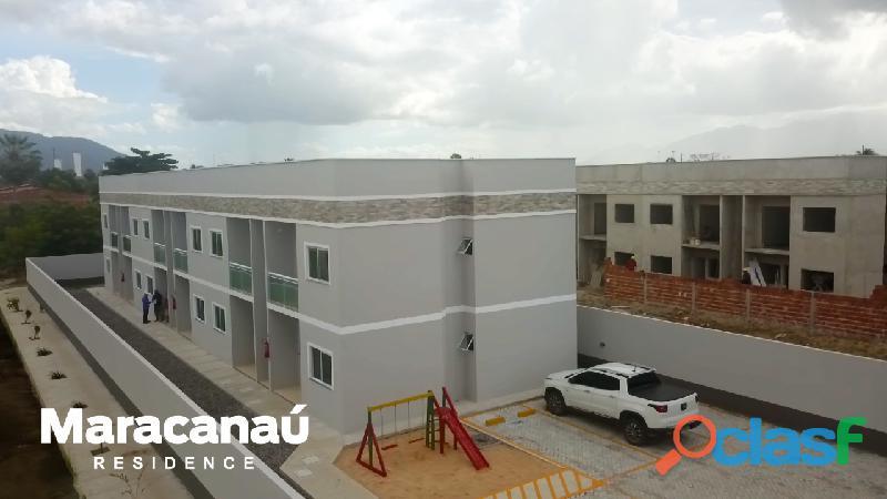 Apartamento em maracanau!! entrada facilitada!!