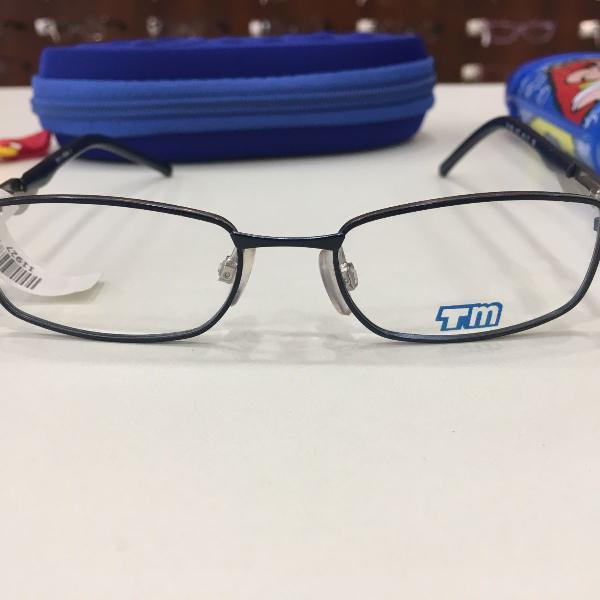 Armação óculos infantil turma mônica 1005 77 preto