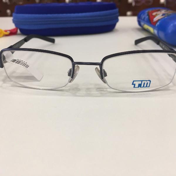 Armação óculos infantil turma mônica 1010 preto