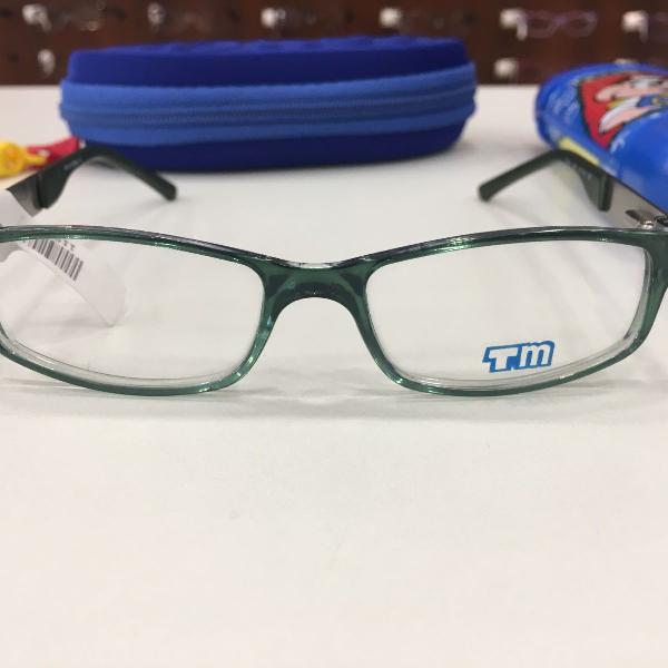 Armação óculos infantil turma mônica 3011 verde