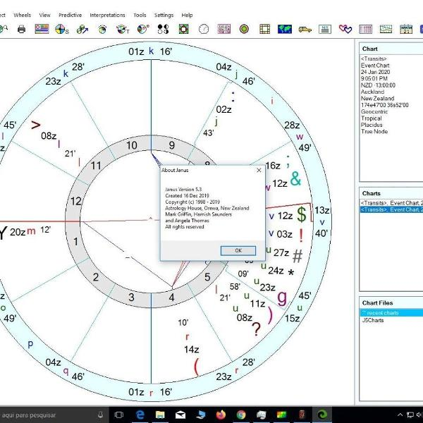 astrology house janus 5.3 software astrologia