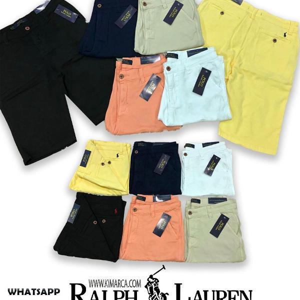 Bermuda jeans ralph lauren originais