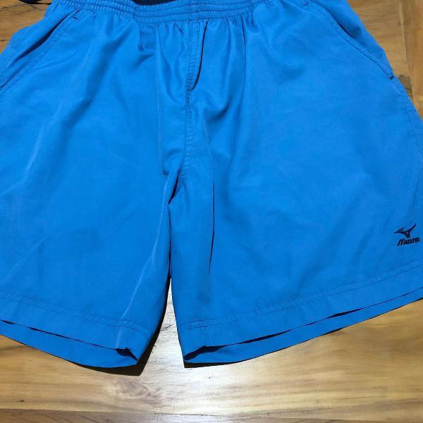 Bermuda mizuno tennis azul