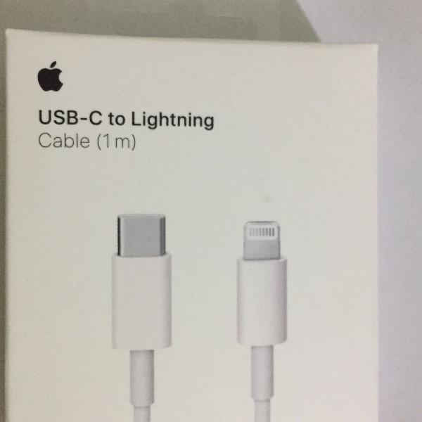 Cabo usb lightning apple