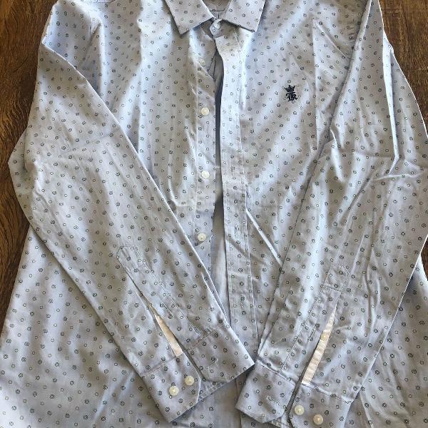 Camisa azul claro sergio k.