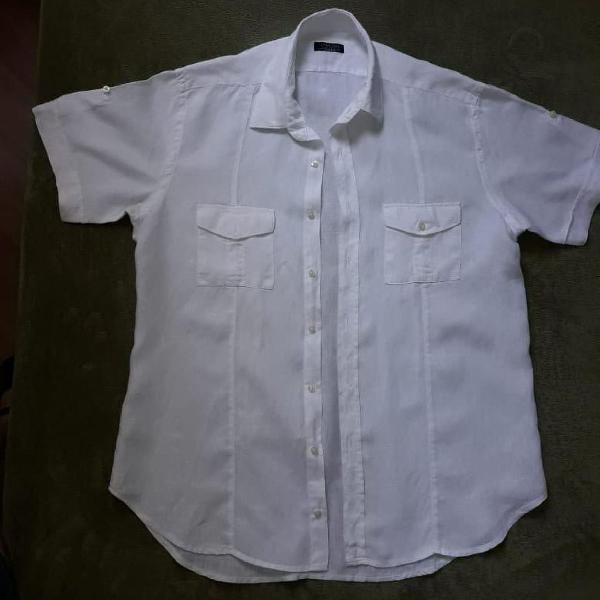 Camisa de linho zara