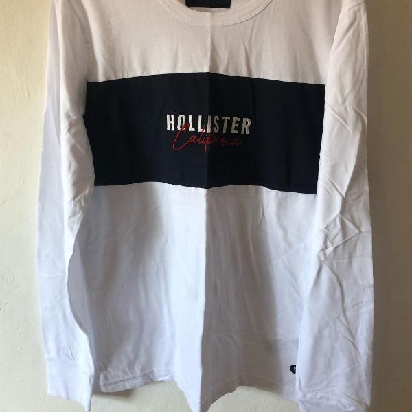 Camisa hollister masculina original tamanho m