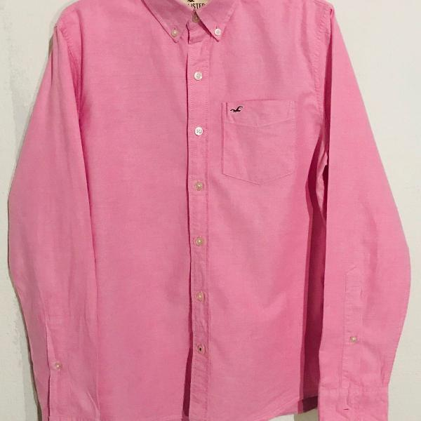 Camisa hollister rosa