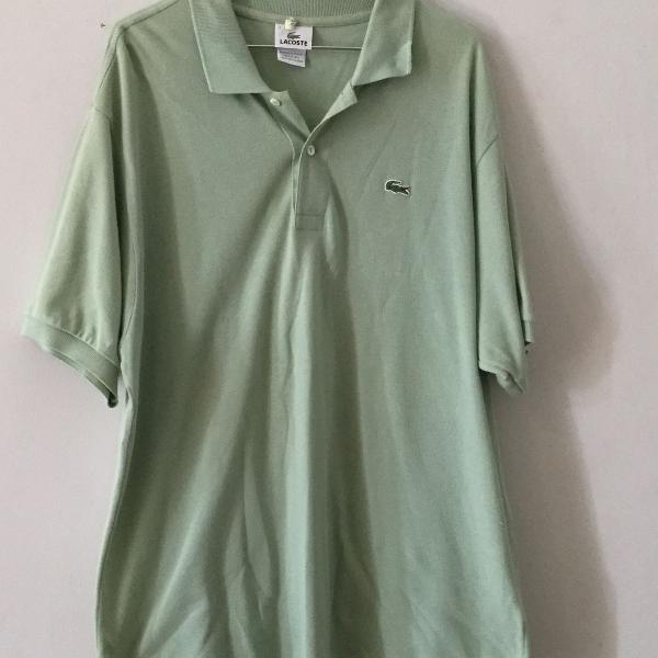 Camisa lacoste verde claro