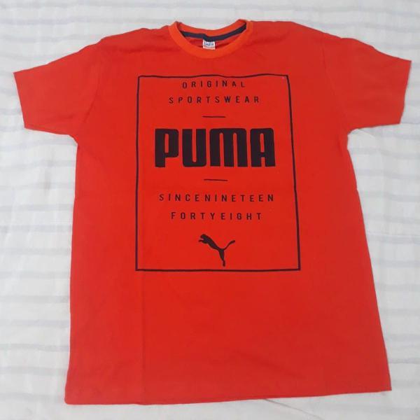 Camisa masculina algodão com aplicações