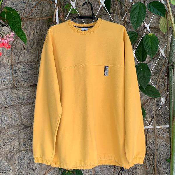 Casaco blusa de frio amarela