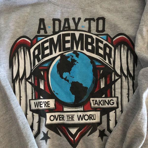 Casaco moletom a day to remember