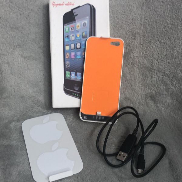 Case carregadora iphone 5