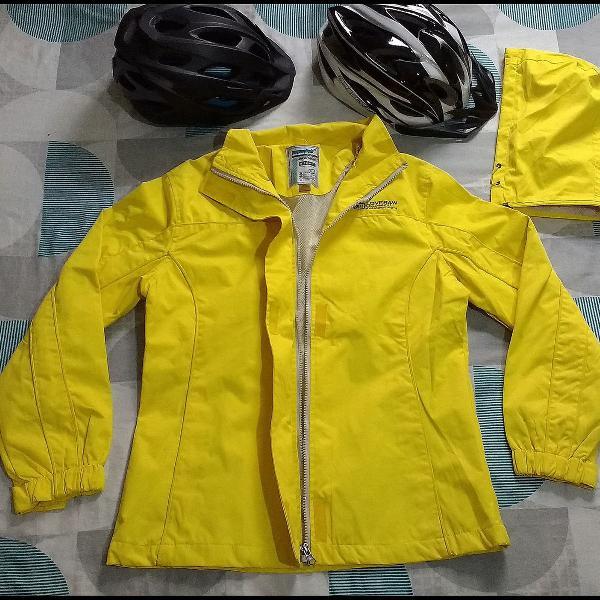 Corta vento chuva bike esporte ciclismo