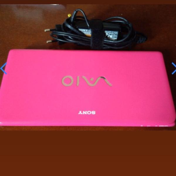 Netbook sony vaio mini pocket cor pink