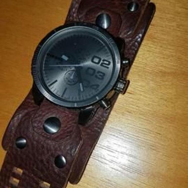 Relógio diesel cronógrafo original