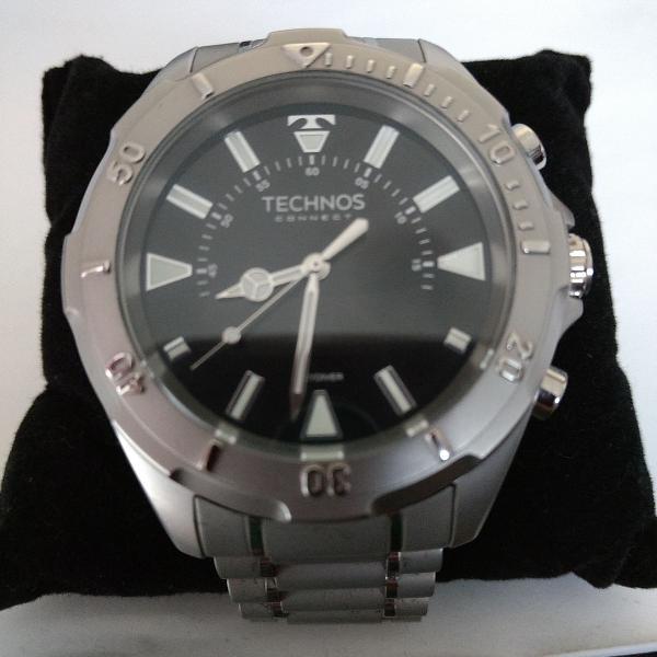 Relógio technos masculino connect smartwatch scaa/1p