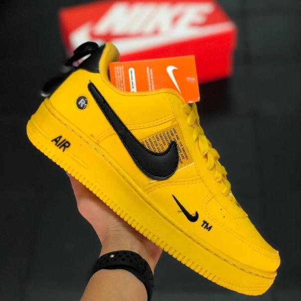 Tênis nike air force 1 lv8 masculino yellow