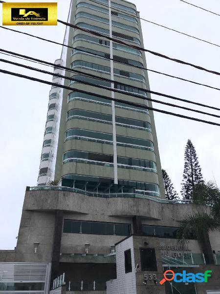 Apartamento a venda frente rua no bairro ocian