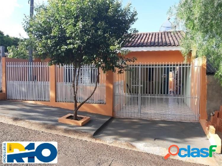 Casa a venda no jd. união ii escriturada 120 m² terreno 80 m² de construção