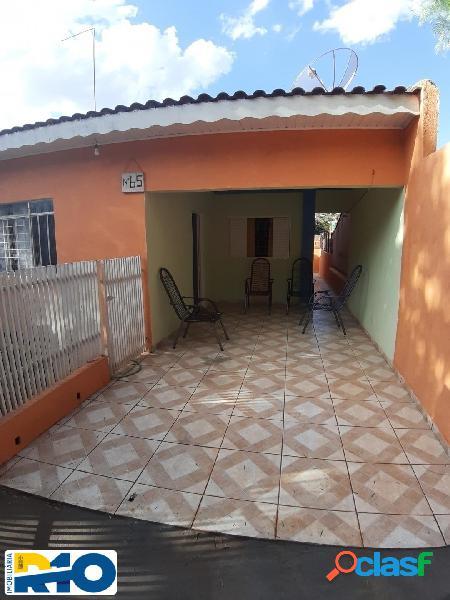 Casa a Venda no Jd. União II Escriturada 120 M² terreno 80 M² de construção 1