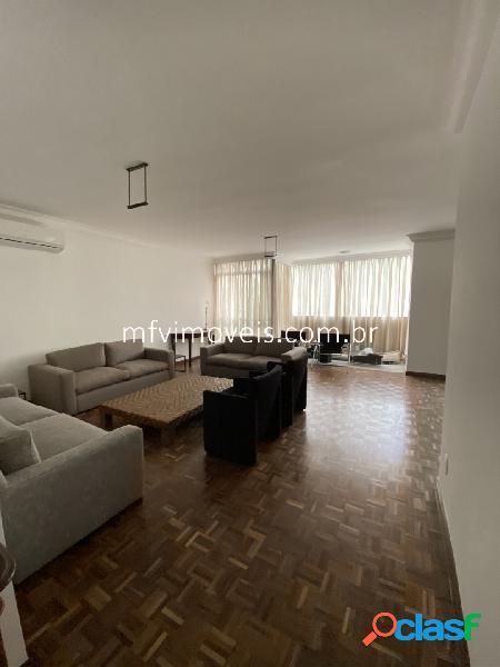 Apartamento mobiliado 3 quartos para aluguel em jardim paulista