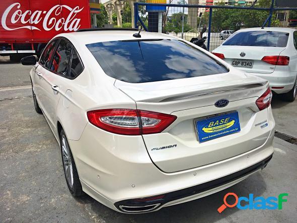 Ford fusion titanium 2.0 gtdi eco. awd aut. branco 2014 2.0 t gasolina