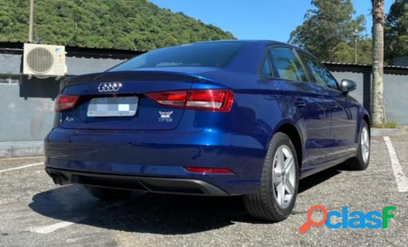 Audi a3 sedan 1.4 tfsi flex tiptronic 4p azul 2018 1.4 flex