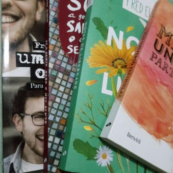 4 livros fred elboni