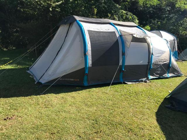 Barraca de camping - quechua - air seconds family 6.3 xl