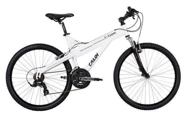 Bicicleta aro 26 caloi t-type