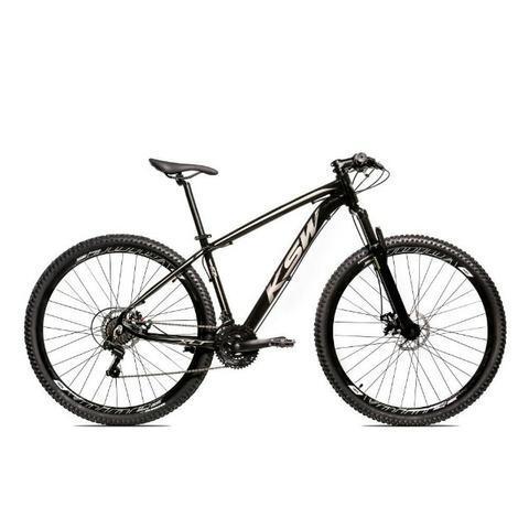 Bicicleta aro 29 ksw shimano 24 vel a disco mecanico ltx