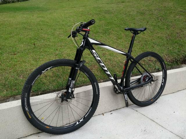 Bicicleta bike scott scale 910 carbono l