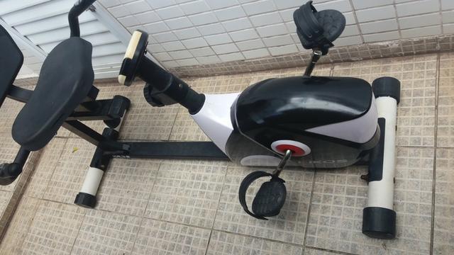Bicicleta ergométrica horizontal - kiko's kr 3.8 - usada