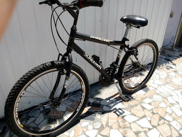 Bike sundown aro 24 aero,freios v-brake, 21 marchas