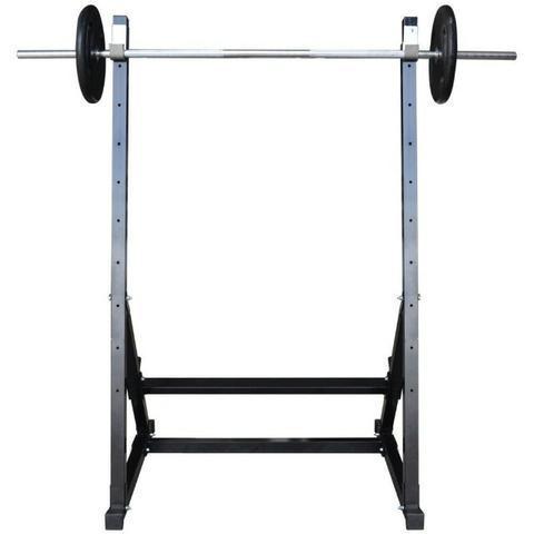 Combo agachamento fitness musculação barra 1,80m maciça