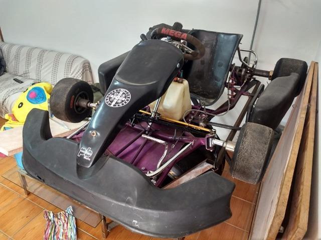 Kart chassi mega 2006 rd135 motor