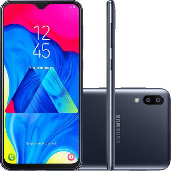 "Samsung galaxy m10 32gb dual chip android 9.0 tela 6,2"""