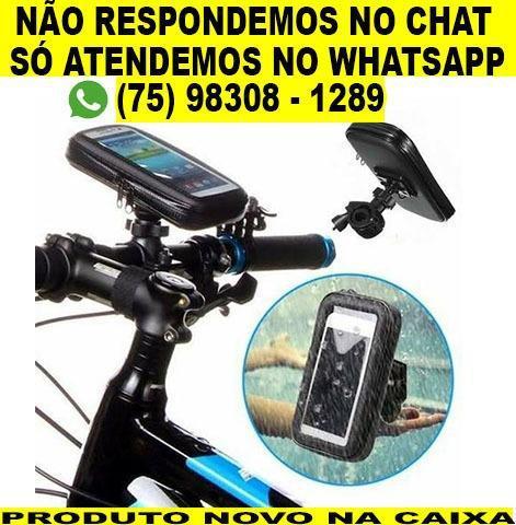 Suporte de celular para bike bicicleta a prova d'agua