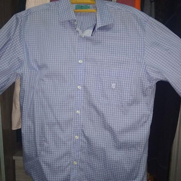 Camisa esporte manga curta